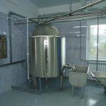 БВЗ по переработке молока мощностью до 10 тонн в сутки
