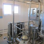 Модульный цех по переработке молока мощностью до 5 тонн в сутки