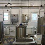 Модульный цех по переработке молока мощностью до 1 тонны в сутки