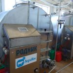 БВЗ по переработке молока мощностью до 20 тонн в сутки