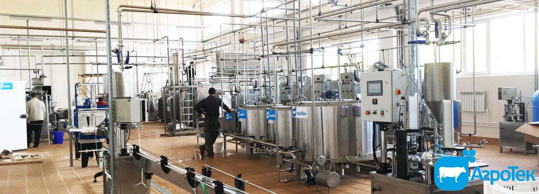 Молочные заводы