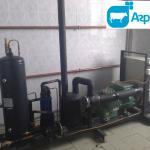 Холодильный агрегат льдоаккумулятора
