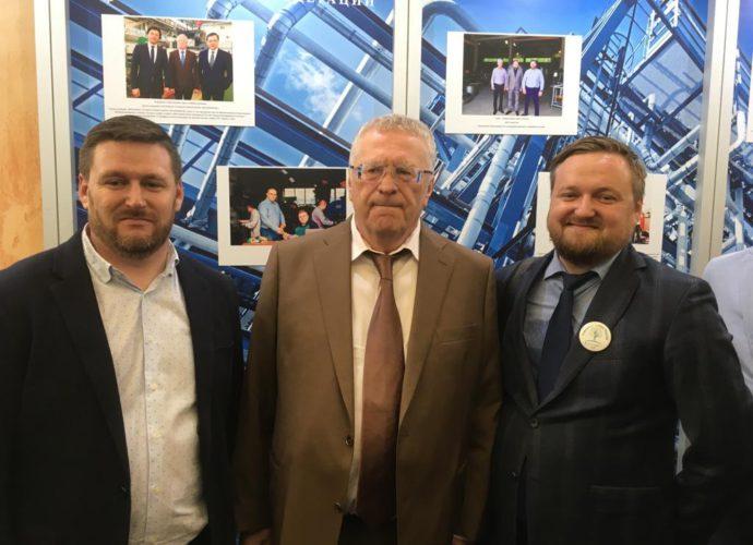 Посетили Госдуму в рамках Форума семейный бизнес