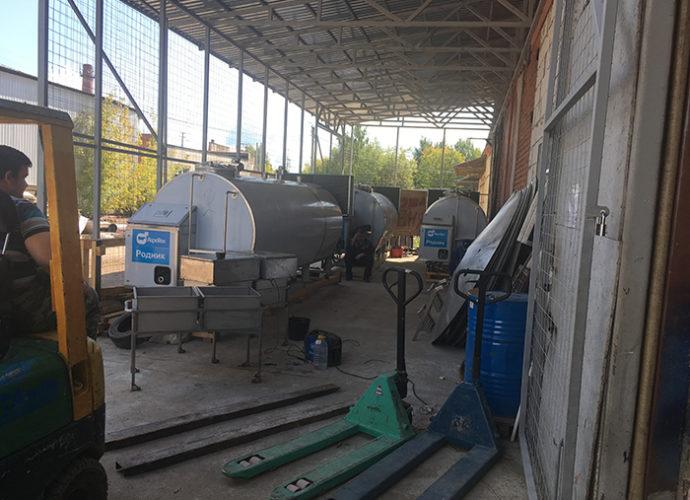 Подготовка к отгрузке оборудования