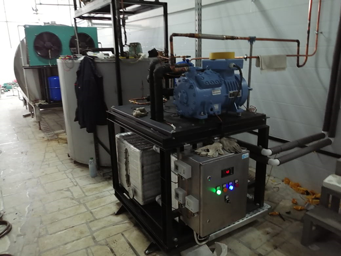 Запуск цеха по переработке молока в Уфе