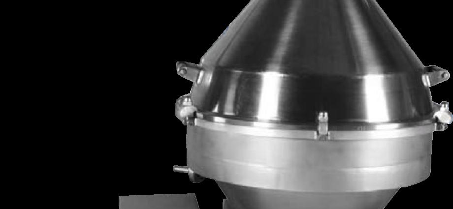 Сепаратор для высокожирных сливок Ж5-ОВС–2,5