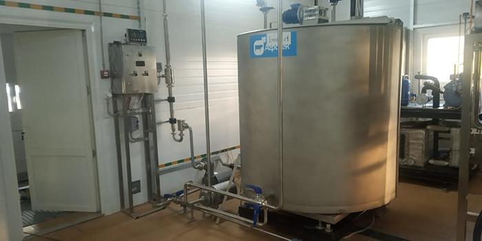 Пуск завода по переработке молока в Усть-Лабинске