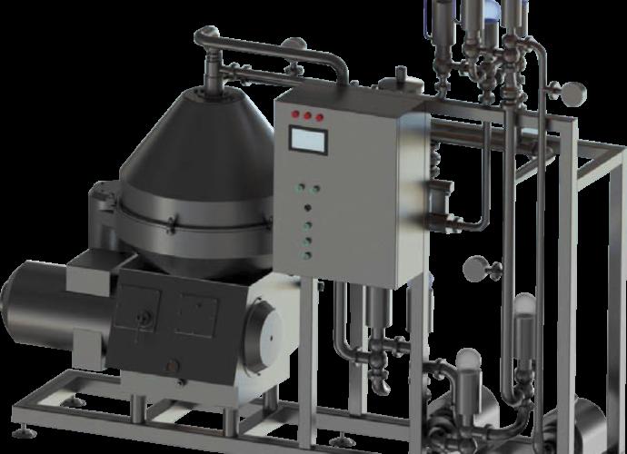 Установка для автоматической нормализации молока в потоке Ж5-ОНМ