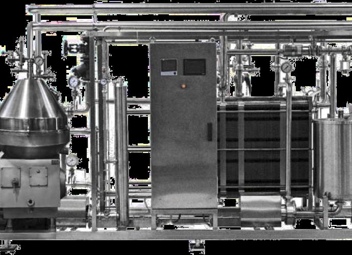 Установка центробежного разделения и пастеризации молока Ж5-ОС-10 ПУ