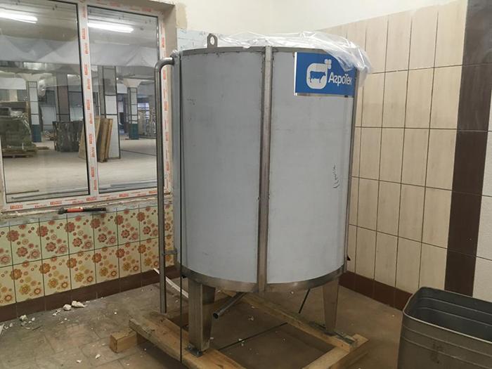 Монтаж оборудования для производства сыра