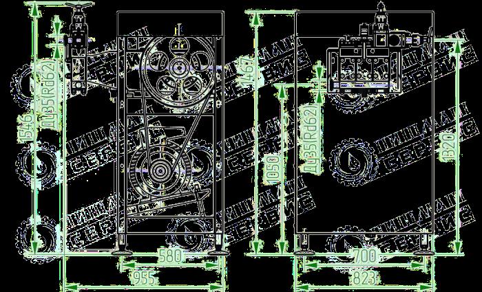 Гомогенизатор плунжерный высокого давления ГМ0,5/20М1Д (500 Л/ЧАС)