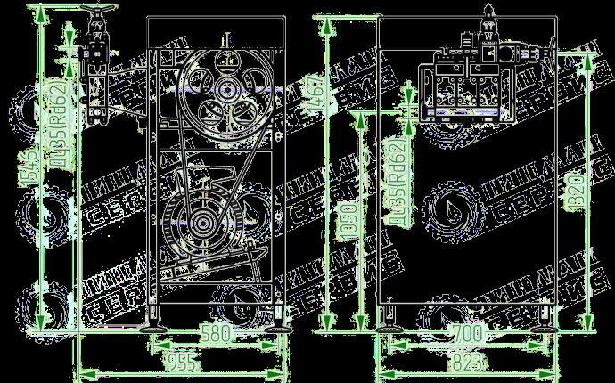 Гомогенизатор плунжерный высокого давления ГМ1,5/20М2Д (1500 Л/ЧАС)