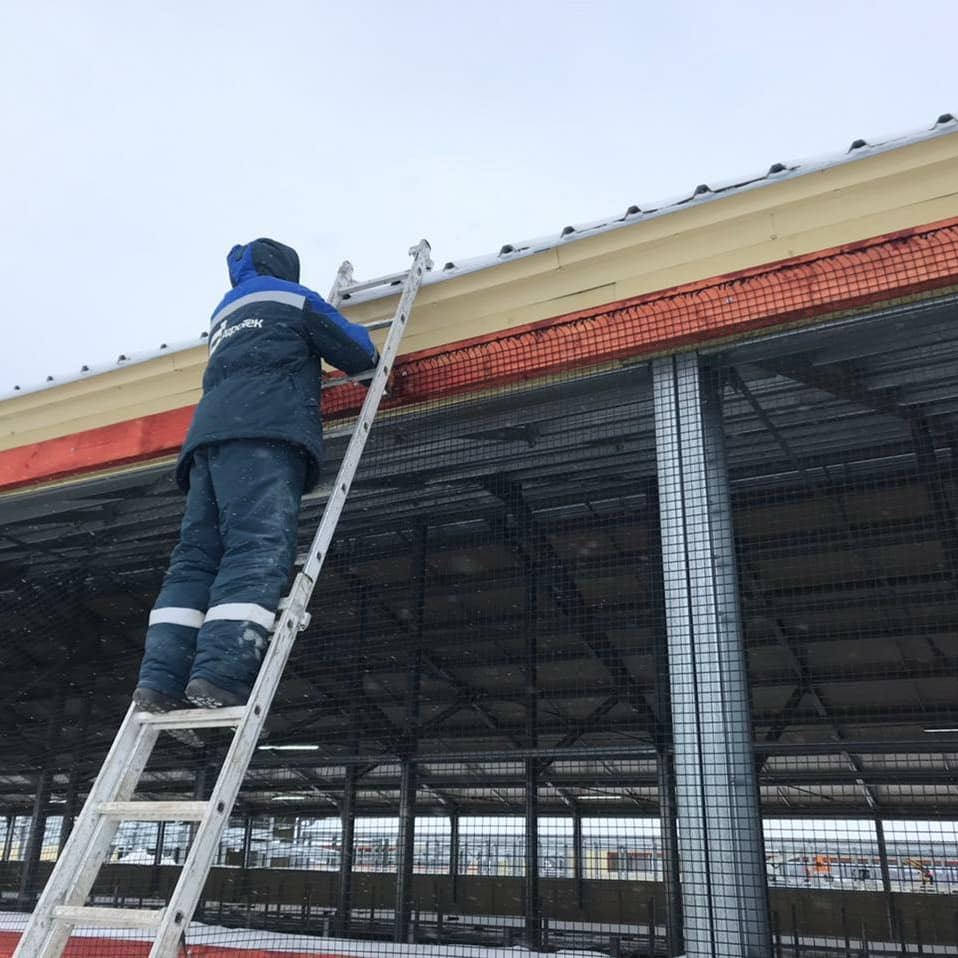 Монтаж сетки для оконных штор. Нижний Новгород
