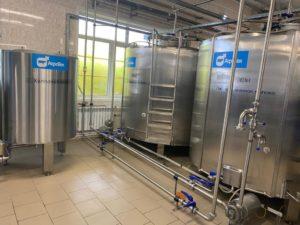 Запуск молочного завода в Смоленске