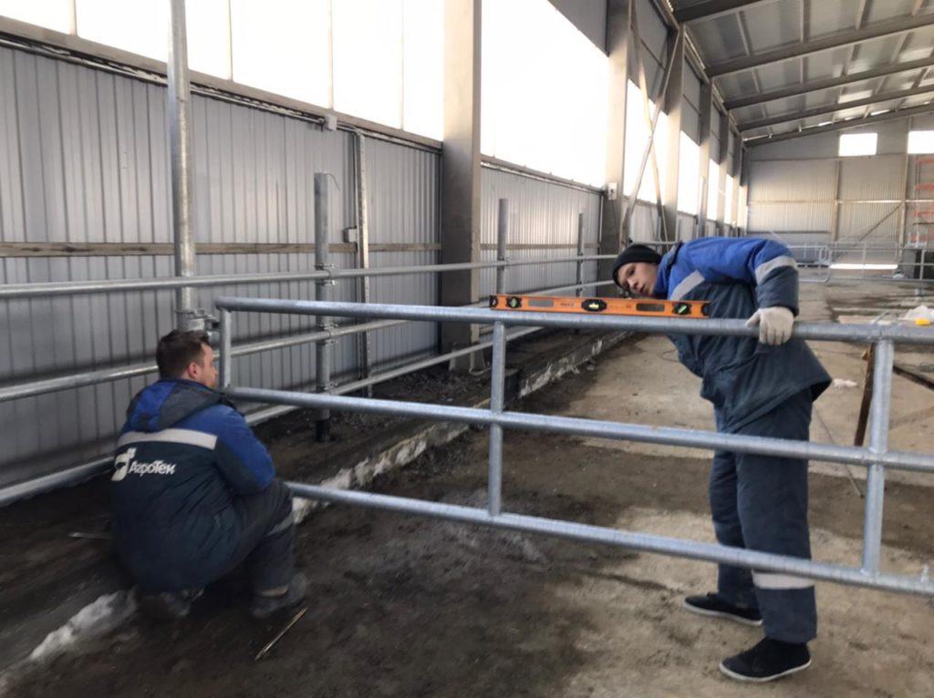 Новый телятник от ООО «АгроТек» готов к эксплуатации